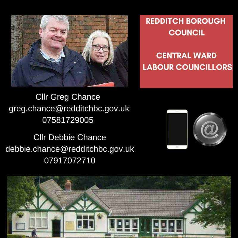 Councillors Greg and Debbie Chance - Central Ward
