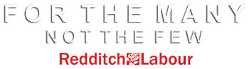 Redditch Labour Party - For the many