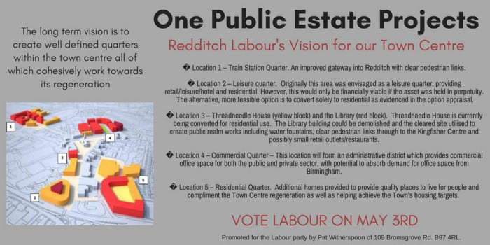 A vision for Redditch - One Public Estate