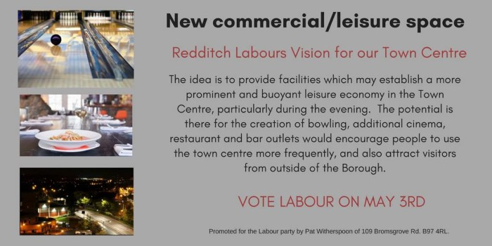 A vision for Redditch - A Day and Night Public Space