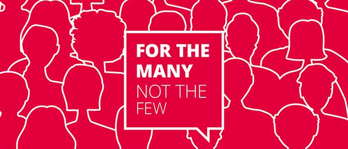 Hope for the many - The Labour Manifesto