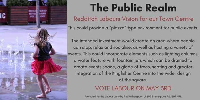 A vision for Redditch - The Public Relm